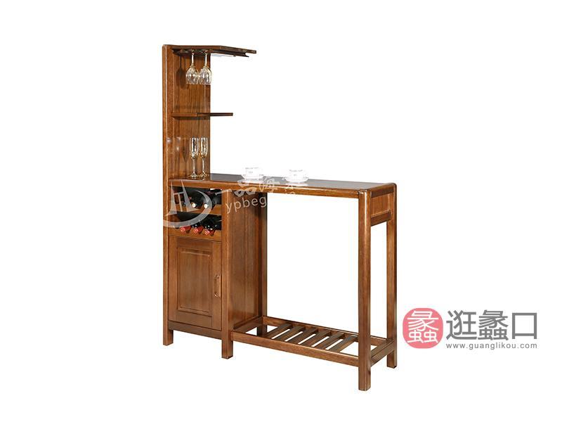 君诺家居·一品海棠家具现代中式餐厅海棠木实木吧椅/吧台