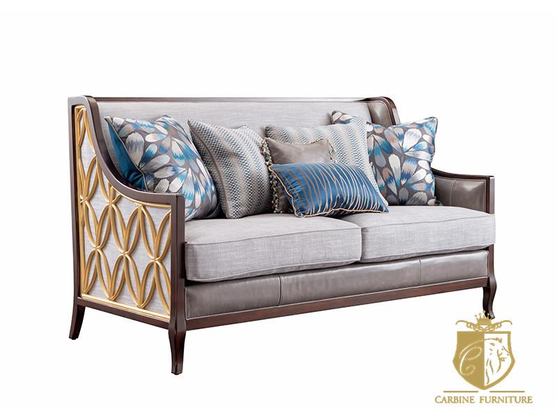 卡缤家具轻奢客厅时尚艺术舒适A1402沙发