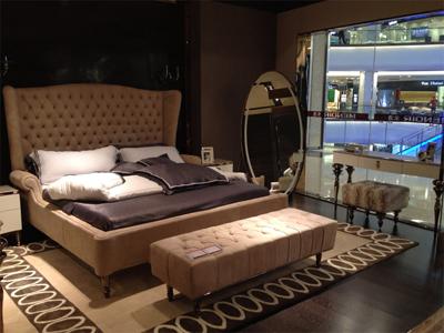 米洛家居简约现代卧室床
