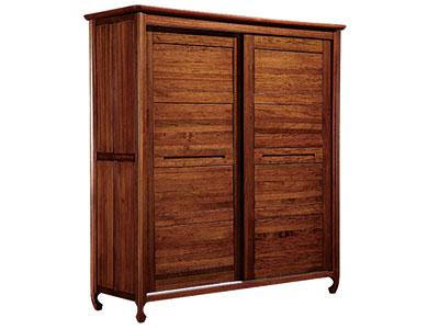 木杩家具北欧风格卧室衣柜移门衣柜
