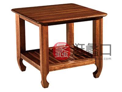 木杩家具北欧风格客厅茶边几纯实木边几
