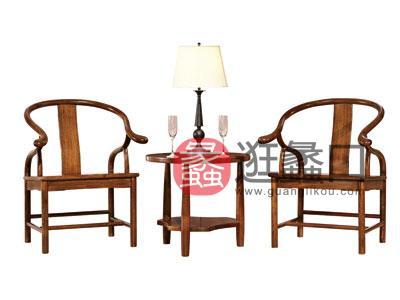 木杩家具简约现代阳台户外桌椅纯实木休闲桌椅
