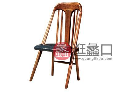 木杩家具北欧风格餐厅餐桌椅纯实木餐椅