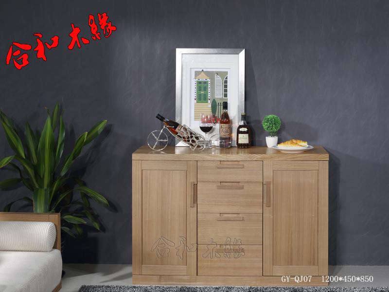 【合和木缘】家具简约现代餐厅餐边柜GY-QJ07