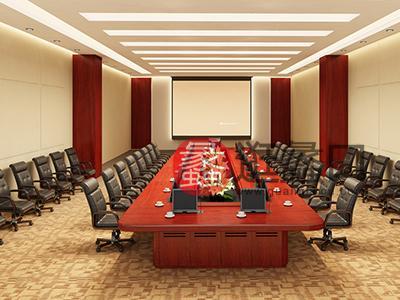 新思维办公家具 圣奥家具 办公个性简约时尚款多人会议桌椅