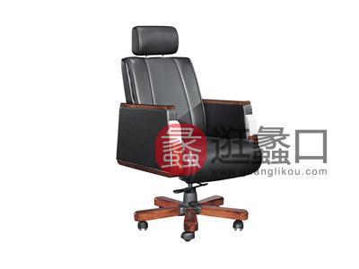 新思维办公家具  马头MT-A010纯实木皮质办公椅/转椅