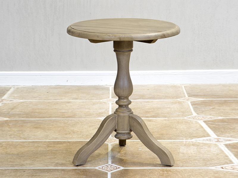 PULASKI家具·爵典家居 美式客厅实木小圆几