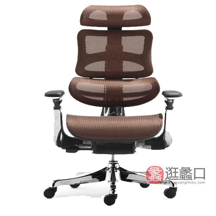 虹桥办公家具主管办公总裁老板椅电竞椅人体工程舒适透气旋转网椅办公办公办公椅