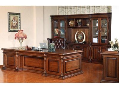 新思维 汉玛思 金典系列 班台办公桌书柜