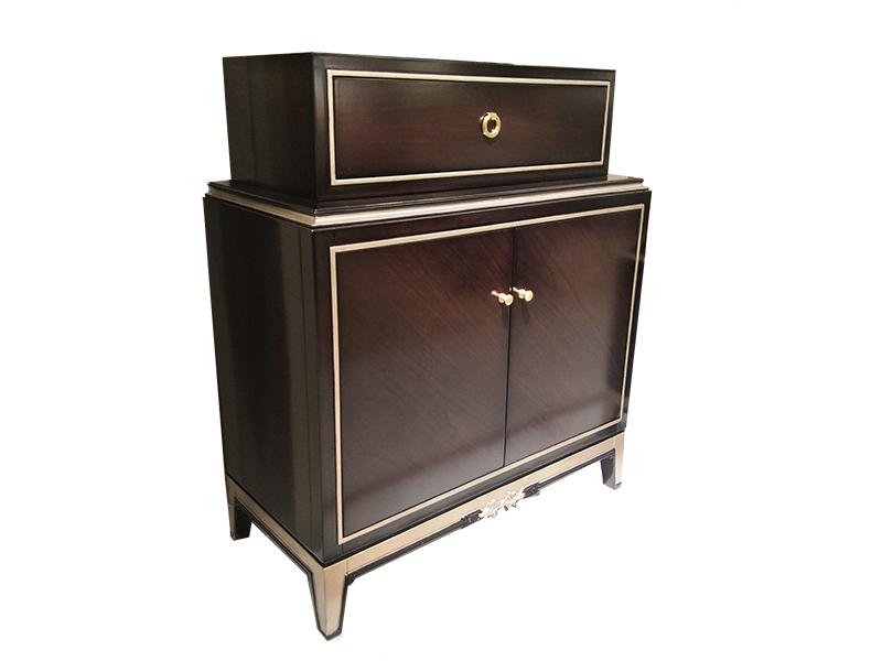 应氏家居·缇迈系列意式轻奢新古典餐厅实木储物柜