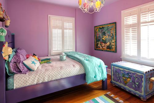 紫色家居设计