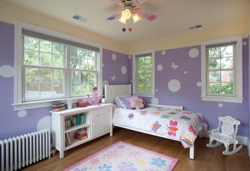 紫色装修风格