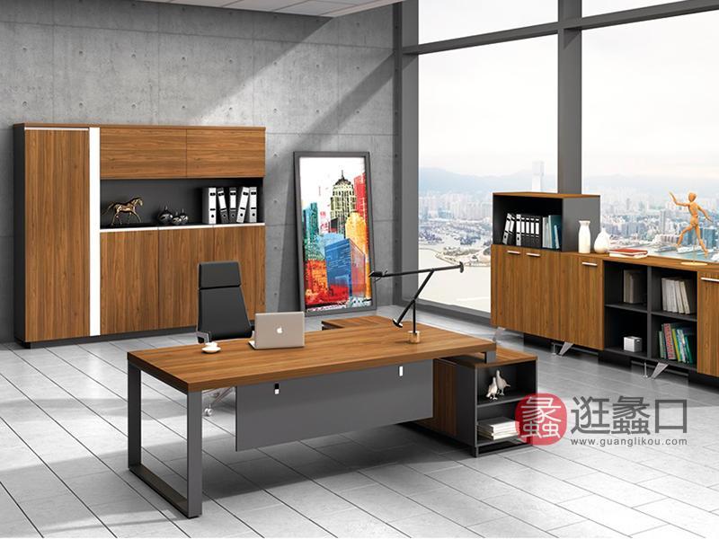 蠡口办公家具办公现代简约员工桌椅/主管桌椅/书柜