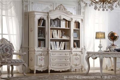 爱丽舍宫欧式法式宫廷系列时尚典雅802四门书柜