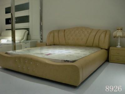 莱弗思家具简约现代卧室床