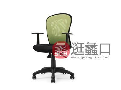蠡口办公家具直销简约现代B332B职员办公椅