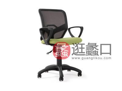 蠡口办公家具直销简约现代B506B职员办公椅