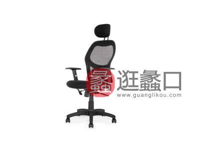 蠡口办公家具直销简约现代B702A职员办公椅