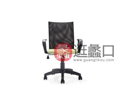 蠡口办公家具直销简约现代M-1556B职员办公椅