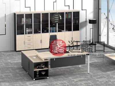 蠡口办公家具直销现代简约板式E3-7603班台/主管桌