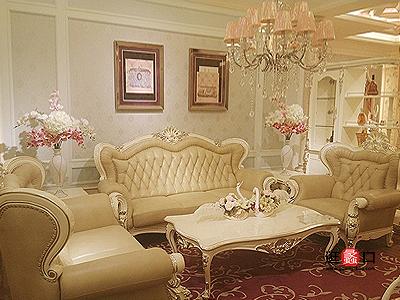 铂尔家欧式客厅沙发