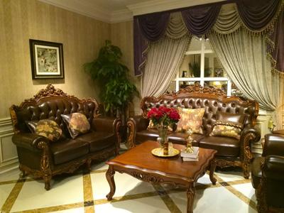 皇家凯旋宫  欧式家具法式家具  实木雕刻家具9997沙发