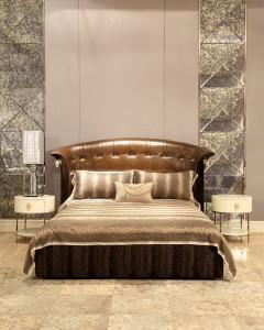 Frandiss富兰蒂斯简约现代卧室床