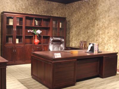 新思维 汉玛思 平安系列 班台办公桌书柜