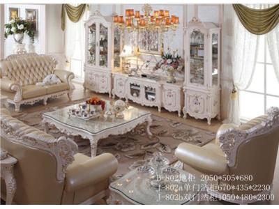爱丽舍宫欧式法式宫廷系列手工描画时尚典雅802组合柜