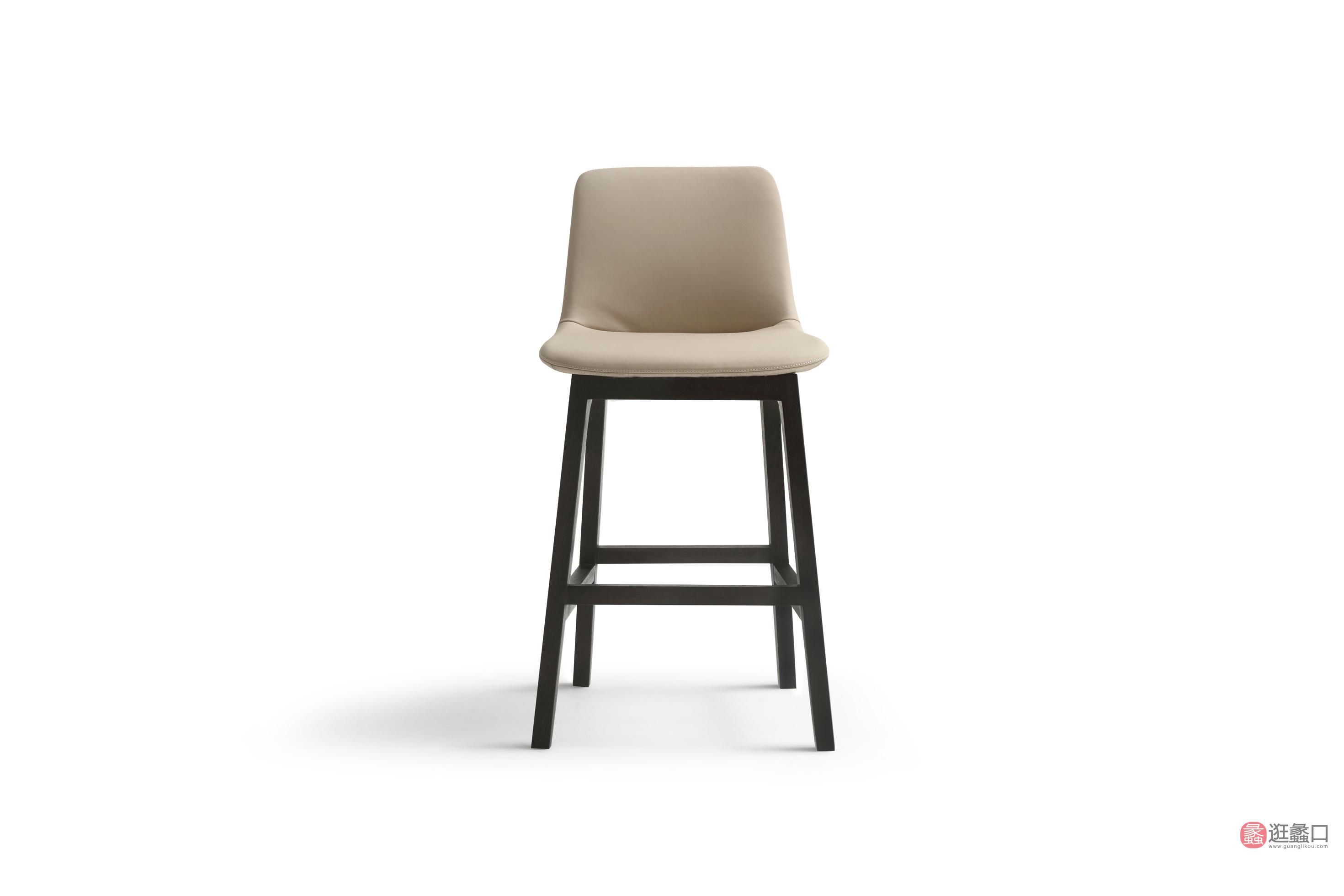 钦驰意式极简餐厅时尚吧台吧椅吧椅QC01