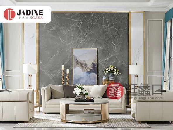 爵典家居·NY9系列美式轻奢客厅沙发