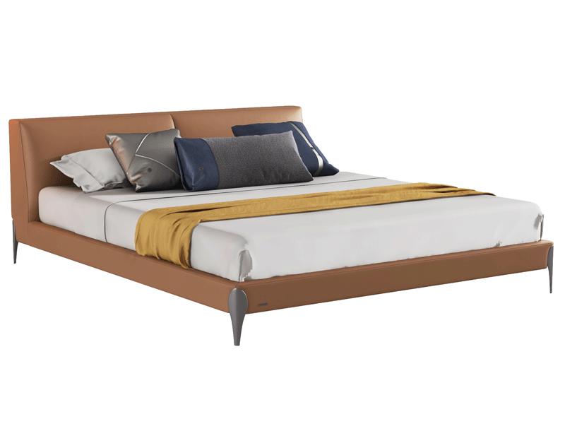 环宸意式极简卧室床