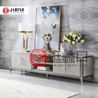 爵典家居·NY9系列美式轻奢客厅电视机柜