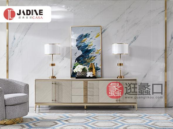 爵典家居·NY9系列轻奢客厅电视机柜