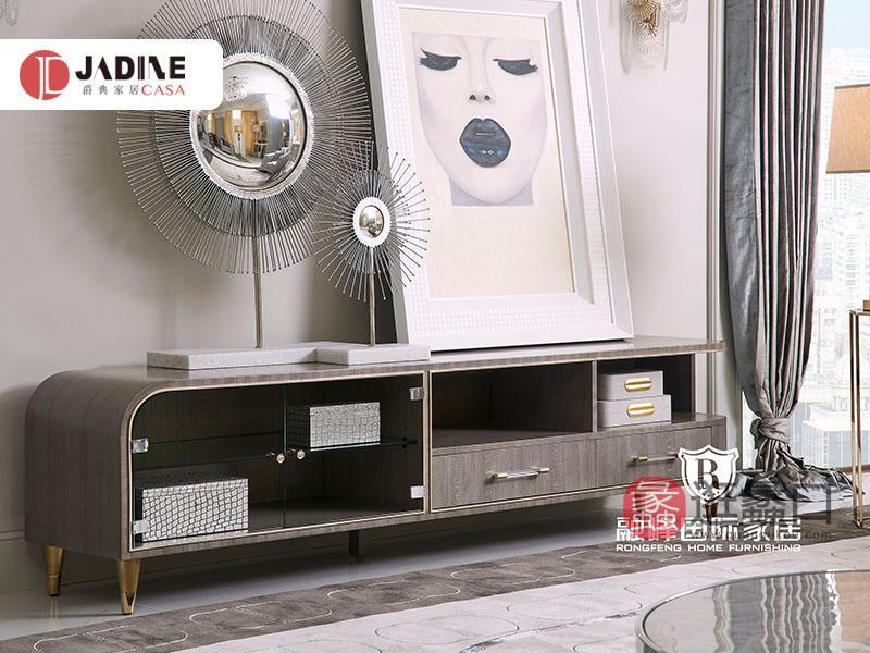 爵典家居·融峰国际家具轻奢客厅电视柜