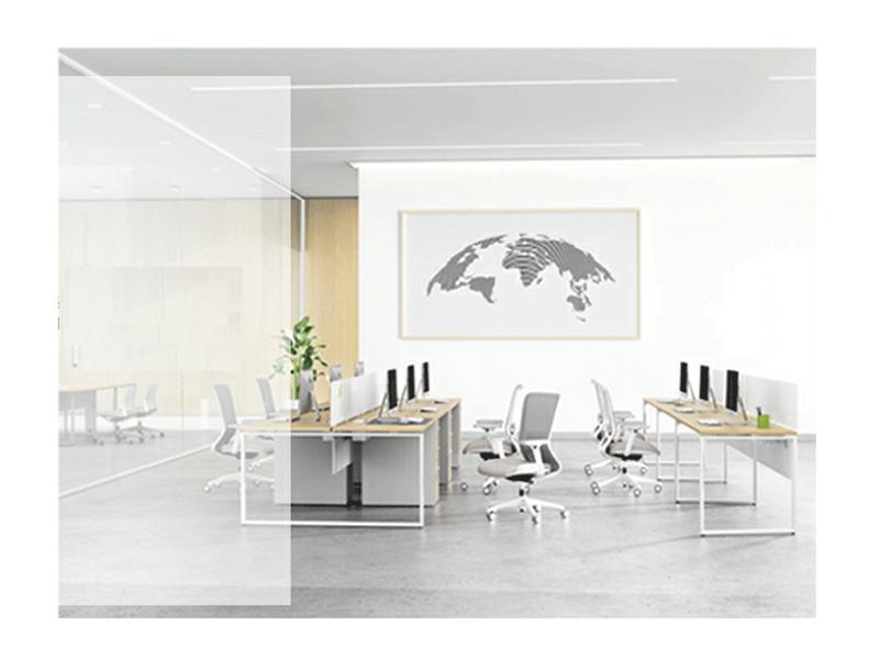 圣奥办公家具办公桌职员屏风工位隔断式卡座电脑桌办公家具桌DL60-2.120060GJ单人职员桌