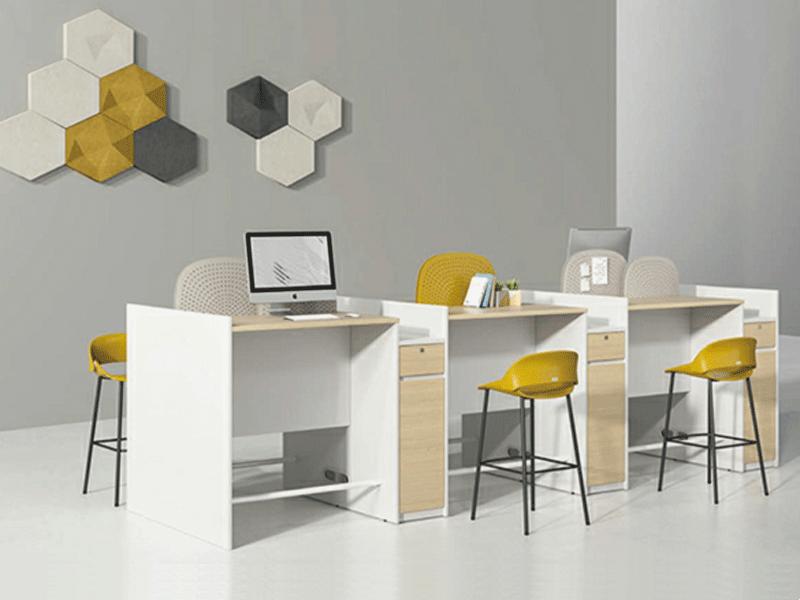 圣奥办公家具办公桌职员屏风工位隔断式卡座电脑桌办公家具桌DQ68R.114060职员桌