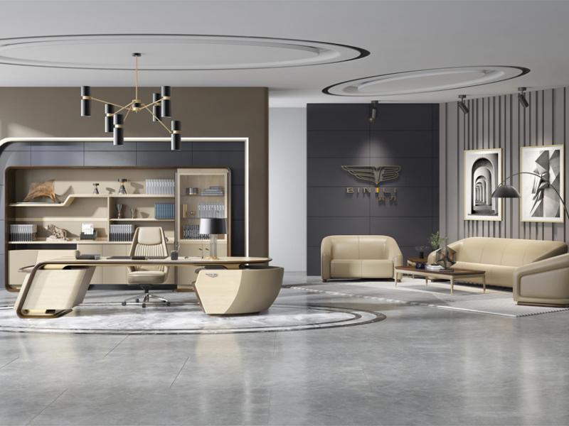 新思维办公家具办公总经理办公室座椅总裁座椅董事长座椅进口牛皮座椅BL-AR03阿扎姆班椅