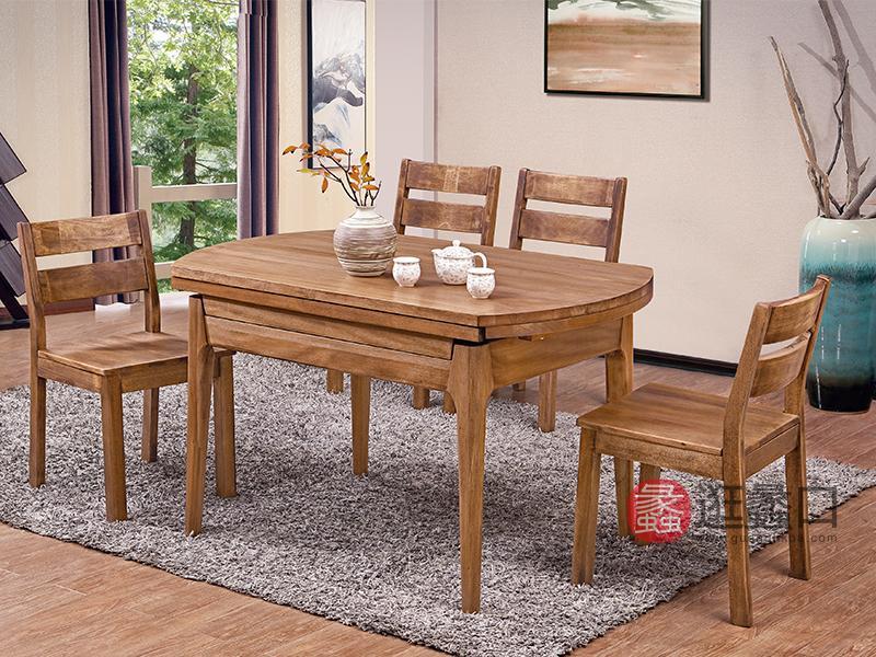 华兴尚品现代餐厅餐桌椅组合HX10餐桌椅