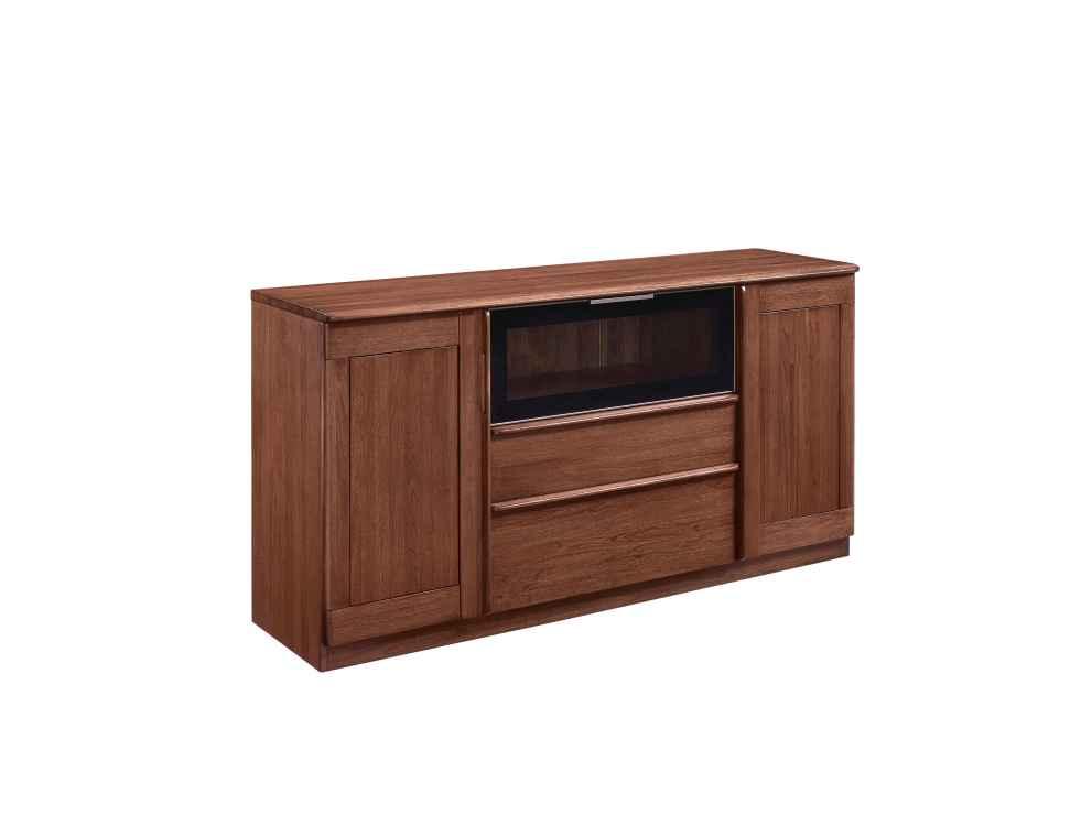 柏森优品LD+实木中式餐厅餐边柜G3705