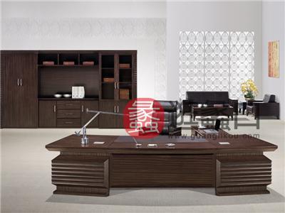 新思维办公家具 国景 时尚黄金品质款 H-1S鼎立天下系列总裁老板桌/大班台/书柜