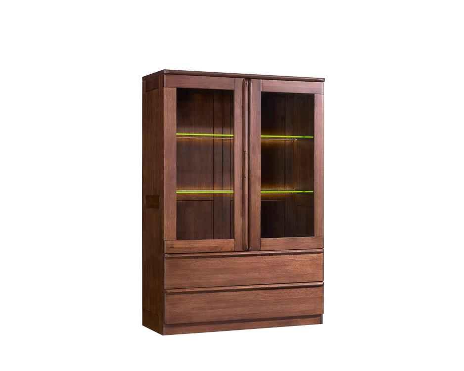 柏森优品LD+实木中式客厅装饰柜/储物柜h3705a