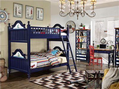 PULASKI家具·爵典家居 美式卧室实木上下母子床