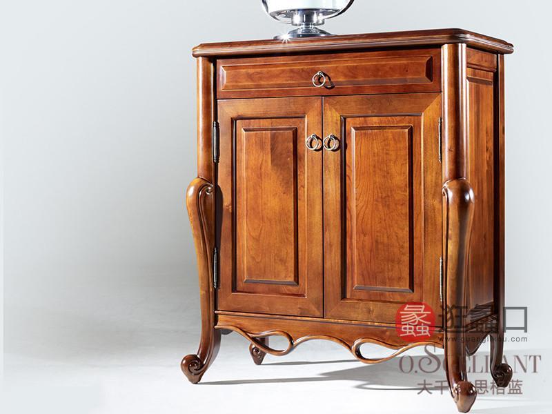 君诺家居·欧思格蓝家具美式卧室樱桃木实木斗柜