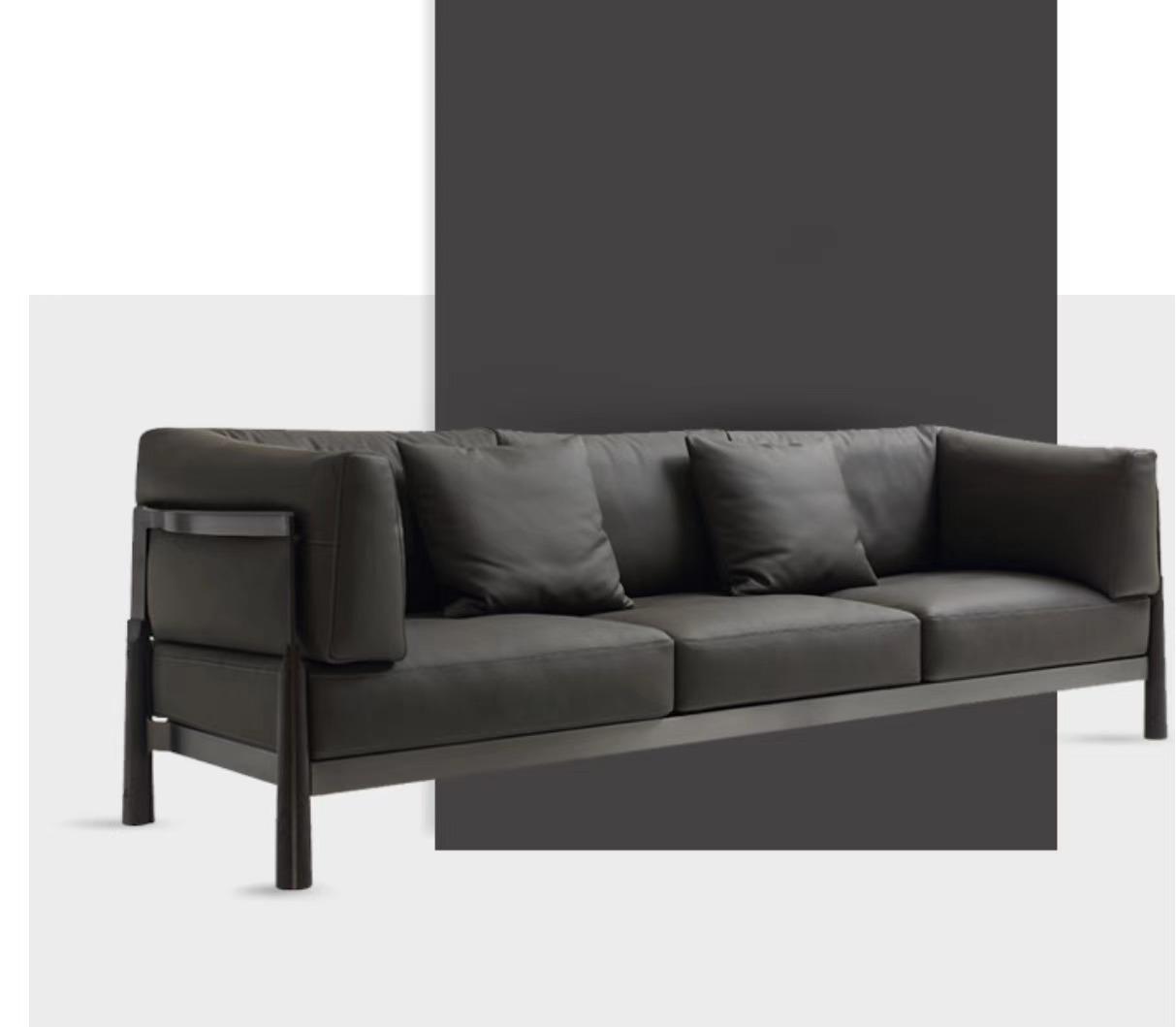 钦驰意式极简客厅沙发