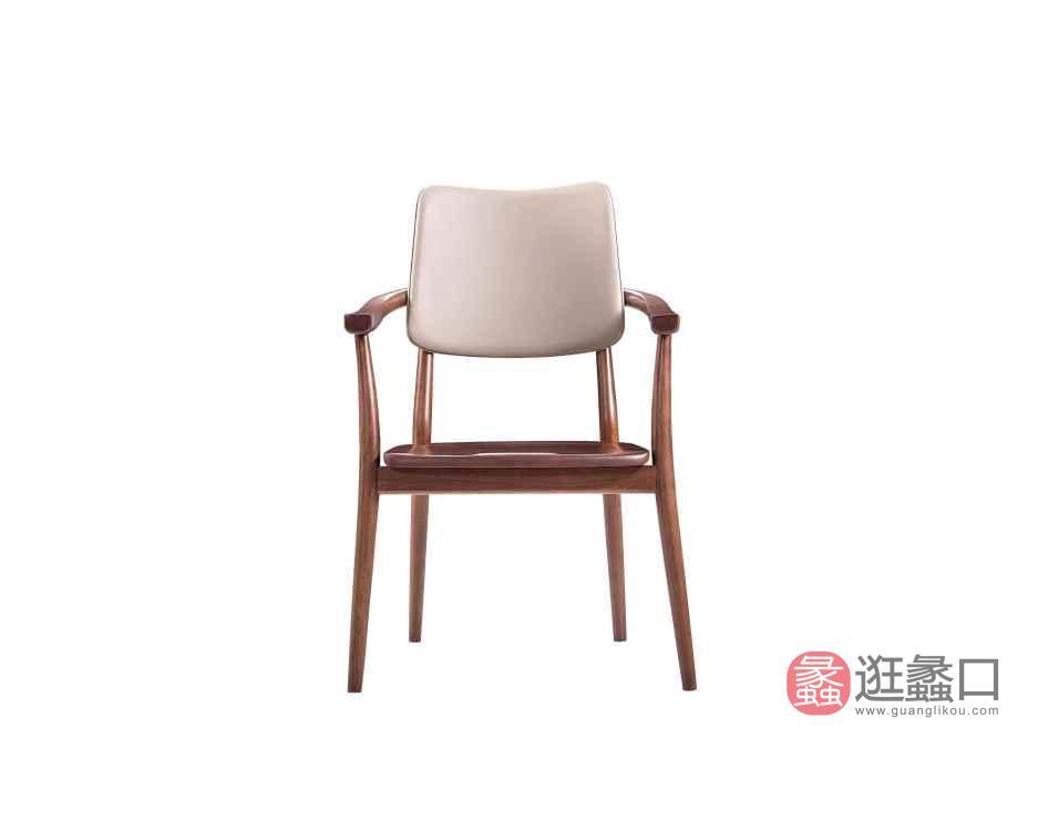 柏森优品LD+实木中式书房书桌椅P3703SC