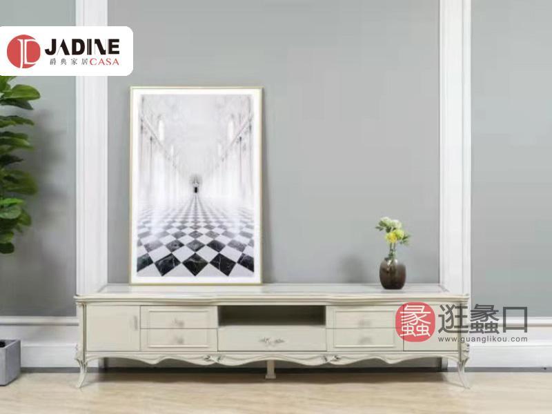 爵典家居·艺术家居生活馆富琦·卡塔赫纳欧式客厅电视柜实木电视柜法式电视柜FQ013