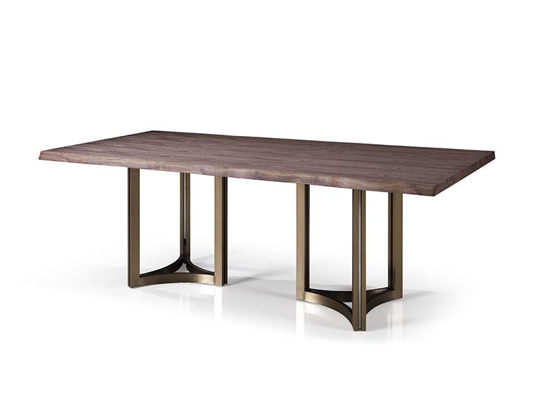 润达名家居·黛博睿家具时尚轻奢餐厅T17035A餐桌