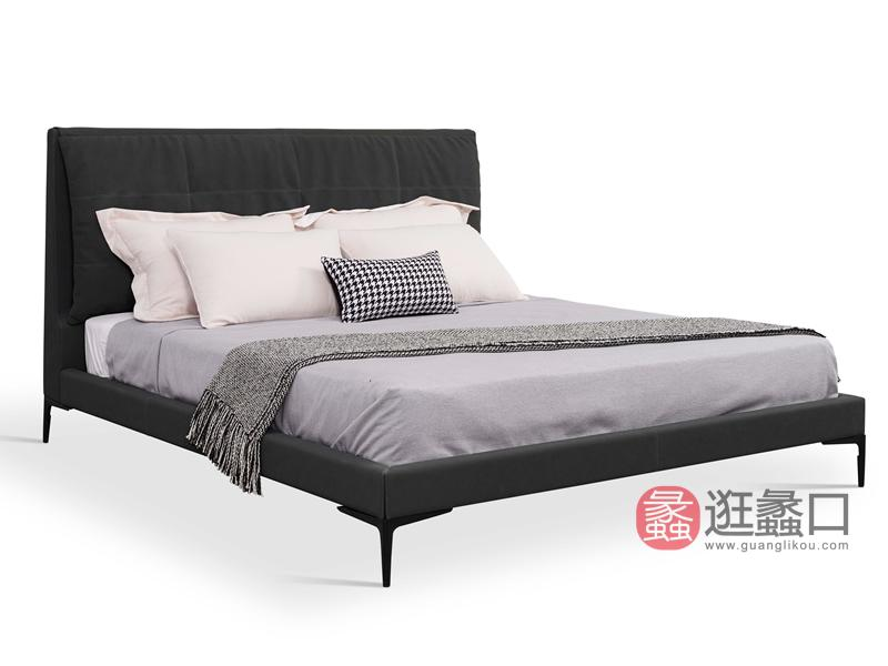 城市空间PRO-LIVING家具轻奢卧室床