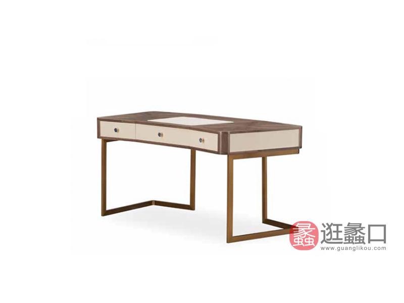 格慕家具轻奢书房书桌椅时尚书房书桌GM-203书桌